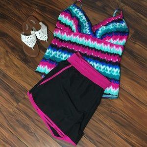 tek gear Pants - Tek Gear Black, Pink Shorts Athletic or Swim