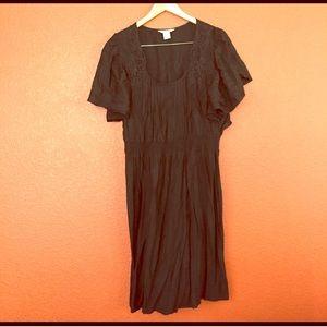 Fun & Flirt Dresses & Skirts - Black Dress with Lace Detail