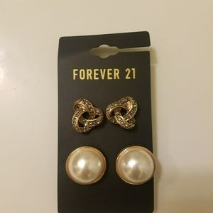 71 off forever 21 jewelry set of 9 stud earrings for for Forever 21 jewelry earrings