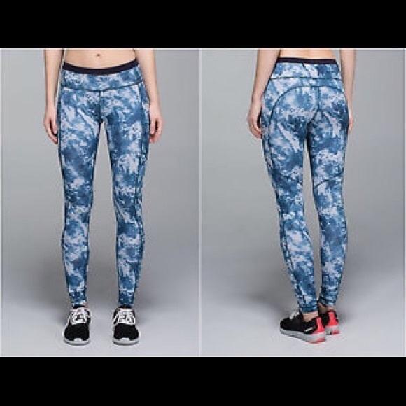 93f692a145 lululemon athletica Pants - Lululemon tie dye speed tight legging seaside