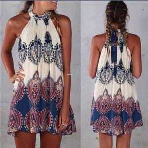 NEW Summer Sun Dress S M