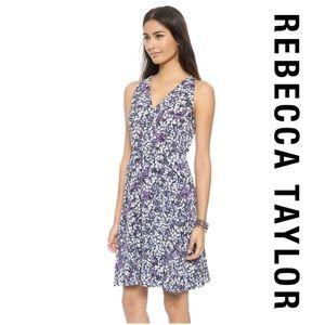 Rebecca Taylor Dresses & Skirts - NWOT Rebecca Taylor Blossom V-neck 100% Silk Dress