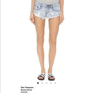 One teaspoon vintage denim shorts sz24