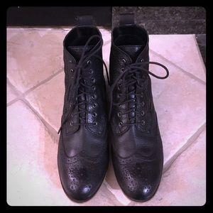 bp Shoes - BP - black leather boots