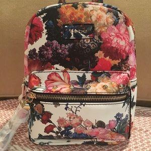 NWT Bebe Melissa Floral Mini Backpack