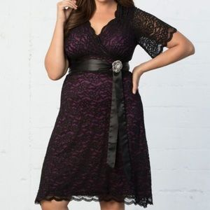 Kiyonna Dresses & Skirts - Kiyonna Retro Glam Lace Dress