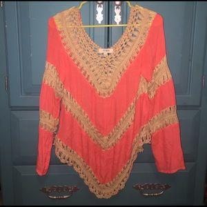 Umgee Tops - Umgee Bright shirt!