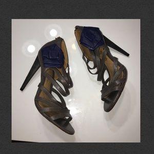L.A.M.B. Shoes - L.A.M.B. Authentic Leather heels sz 7