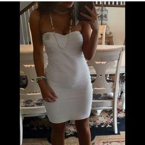 Herve Leger white XS Bandage Dress