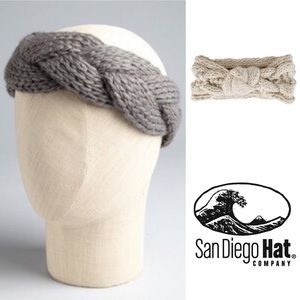 San Diego Hat Company Accessories - San Diego Hat Co. Cable Knit Headband