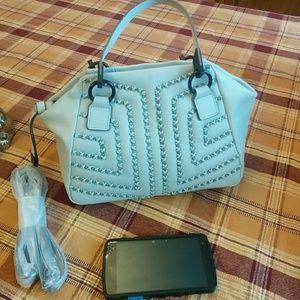 Foley + Corinna Handbags - 🆕Foley + Corinna baby blue mini satchel