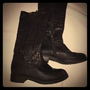 2 Lips Too Shoes - 🌟2 Lips Too Black Riding Boots🌟GUC