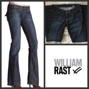 William Rast Denim - William Rast Size 24 Belle Flared Flap Jeans EUC