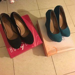 Charlotte Russe Shoes - Wedges Bundle