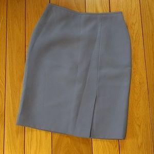Tahari Dresses & Skirts - Tahari grayish lavender suit skirt
