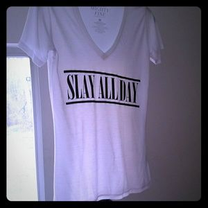 Mighty Fine Tops - *Slay All Day* Graphic Tee