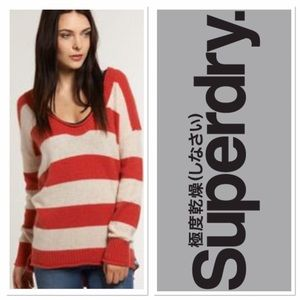 Superdry Sweaters - Black Label Superdry striped sweater