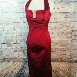 bebe Dresses & Skirts - Sexy Bebe cocktail halter dress