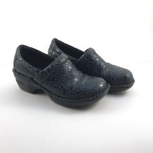 Born Shoes - BORN BOC PEGGY BLUE PAISLEY Leather mules  Shoes7