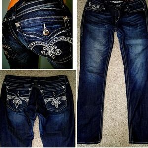 Rock Revival Denim - NWOT ROCK REVIVAL SKINNY blingy jeans