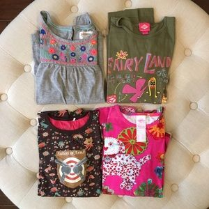 Oilily Other - Lot of 4 Girls' Oilily/Boden Tops size 11-12
