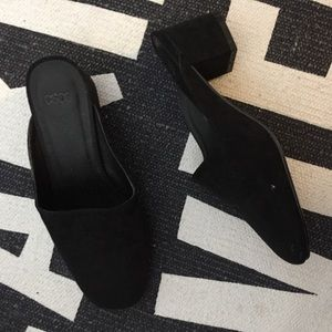 ASOS suede slippers