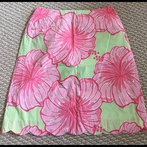 Lilly Pulitzer summer skirt,