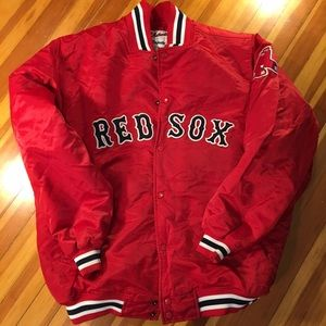 Majestic Other - Majestic MLB Authentic Red Sox Varsity Jacket