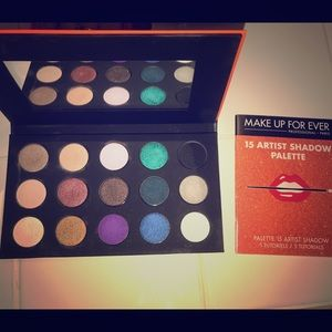 Makeup Forever Other - LIKE NEW!!!MAKEUP FOREVER 15 SHADOW ARTIST PALETTE