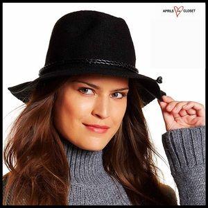 BLACK HAT Panama Fedora Hat