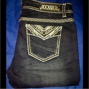 """Rock & Roll Cowgirl Denim - ❤NWT. ROCK&ROLL Cowgirl 33X32"""" Skinny Jeans"""