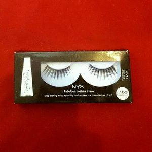 NYX Other - Nyx Dramatic Falsies in Sugarlicious