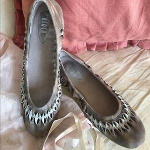 Bloch Shoes - Bloch ballet flats, gray, size 39 1/2 *PRICE DROP*