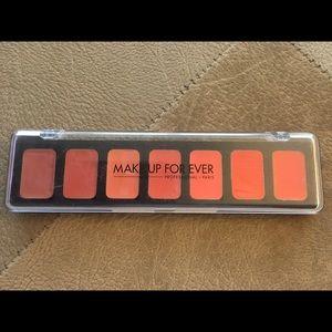 Makeup Forever Other - Make Up For Ever Artist Rouge 7 Lipstick Palette