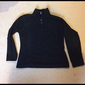 Trespass Tops - Trespass M black fleece half zip
