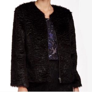 cupcakes and cashmere Jackets & Blazers - Ingrid Faux Fur Jacket