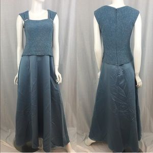 Patra Dresses & Skirts - 💎Size 12 Patra Blue Glitter Top Formal Dress Gown