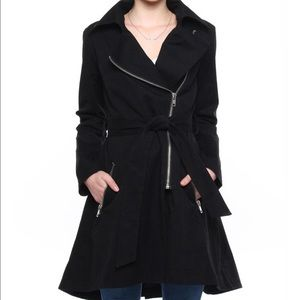 Bb Dakota Black Trench Coat
