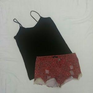 Rue21 Pants - Rue21 Boho Print Shorts