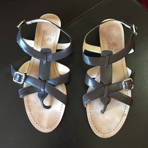 Brooks Brothers Shoes - Brooks Brothers Brown Leather Sandals
