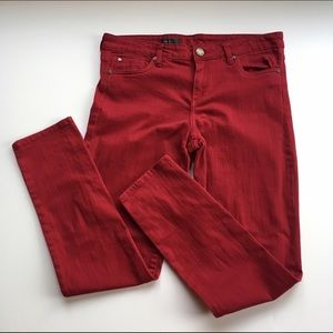 Kut from the Kloth Denim - Kut from the Kloth red Diana skinny jeans