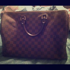 Louis Vuitton Handbags - Authentic louis vuitton handbag Original speedy 35