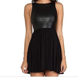 Bailey 44 Dresses & Skirts - Bailey 44 faux leather mini dress