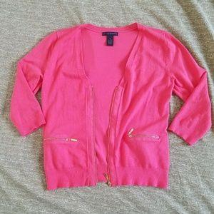 Grace Elements Sweaters - Grace Elements cardigan with gold zipper