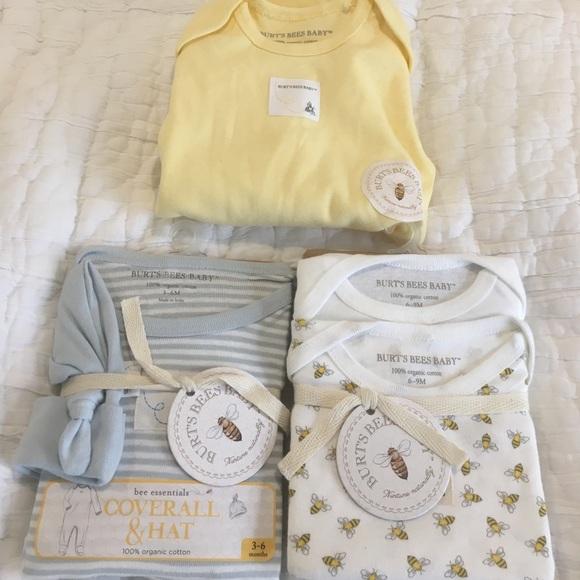 c21656ca7 Burt's Bees Baby One Pieces | Burts Bees Baby Clothes Nwt | Poshmark
