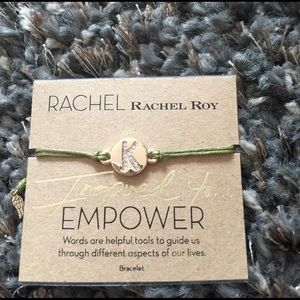 Rachel Roy Jewelry - BNWT Rachel Roy slide bracelet , initial K