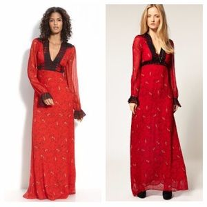 Winter Kate Dresses & Skirts - Winter Kate Sweet Rose silk gown