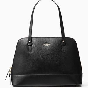 kate spade Handbags - NWT Kate Spade large Black Leather Rachelle