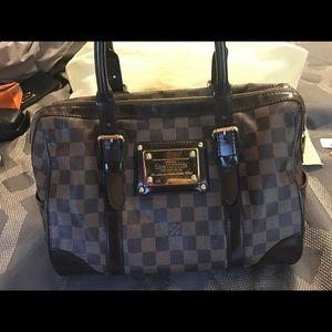 ***SOLD*** LOUIS VUITTON Damier Ebene Berkeley