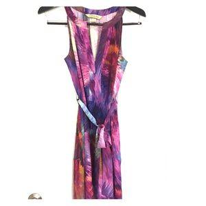 Silk pattern Presley Skye dress
